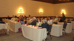 Attendees at SW Lavender conference.