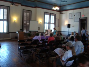 Seminar in the old courthouse.